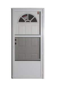 6 Panel Plastic Fan Combo Door