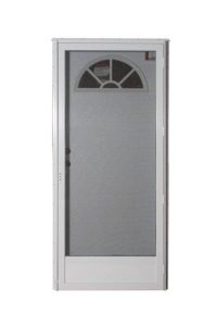 Alum Fan Combo Door