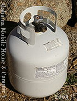 20 pound LP Gas Tank